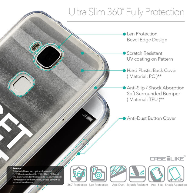 Details in English - CASEiLIKE Huawei G7 Plus back cover Quote 2429