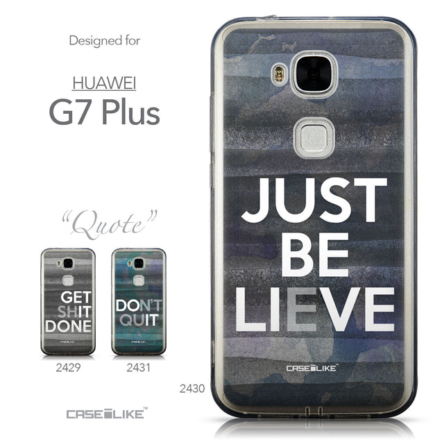 Collection - CASEiLIKE Huawei G7 Plus back cover Quote 2430