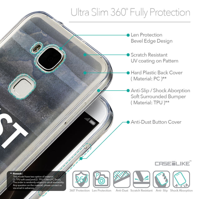 Details in English - CASEiLIKE Huawei G7 Plus back cover Quote 2430