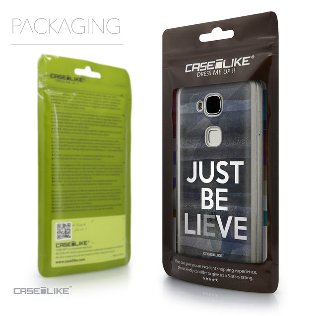 Packaging - CASEiLIKE Huawei G7 Plus back cover Quote 2430