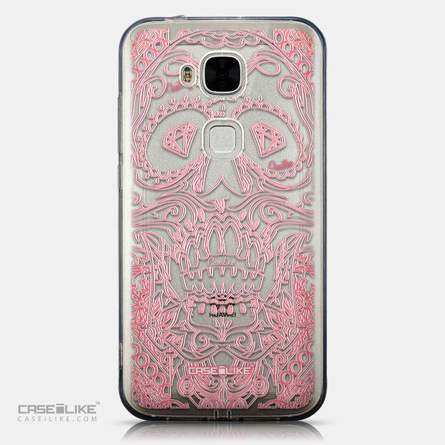 CASEiLIKE Huawei G7 Plus back cover Art of Skull 2525