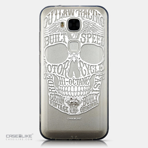 CASEiLIKE Huawei G7 Plus back cover Art of Skull 2530