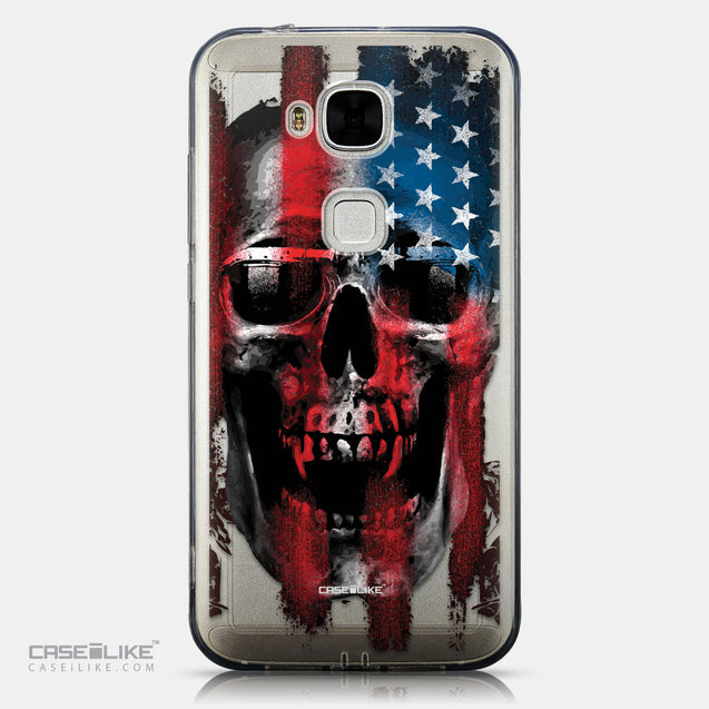 CASEiLIKE Huawei G7 Plus back cover Art of Skull 2532