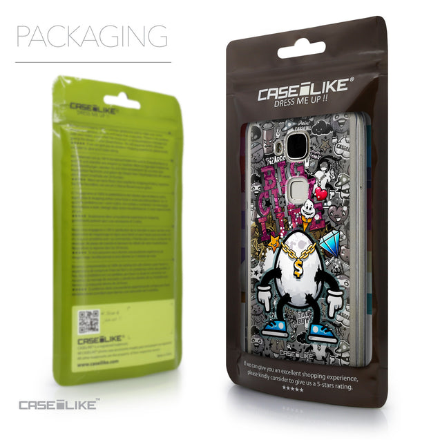 Packaging - CASEiLIKE Huawei G7 Plus back cover Graffiti 2704