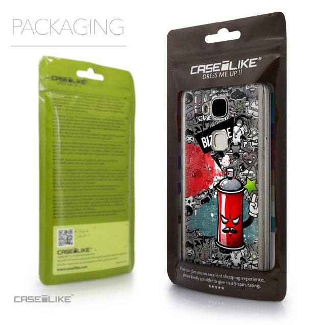 Packaging - CASEiLIKE Huawei G7 Plus back cover Graffiti 2705
