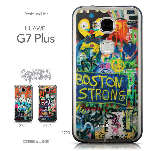 Collection - CASEiLIKE Huawei G7 Plus back cover Graffiti 2723