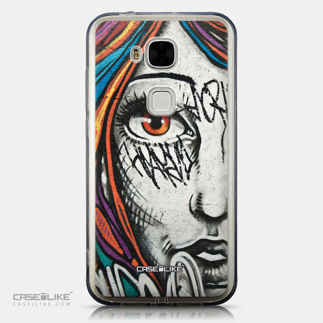 CASEiLIKE Huawei G7 Plus back cover Graffiti Girl 2724