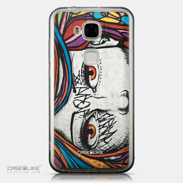 CASEiLIKE Huawei G7 Plus back cover Graffiti Girl 2725