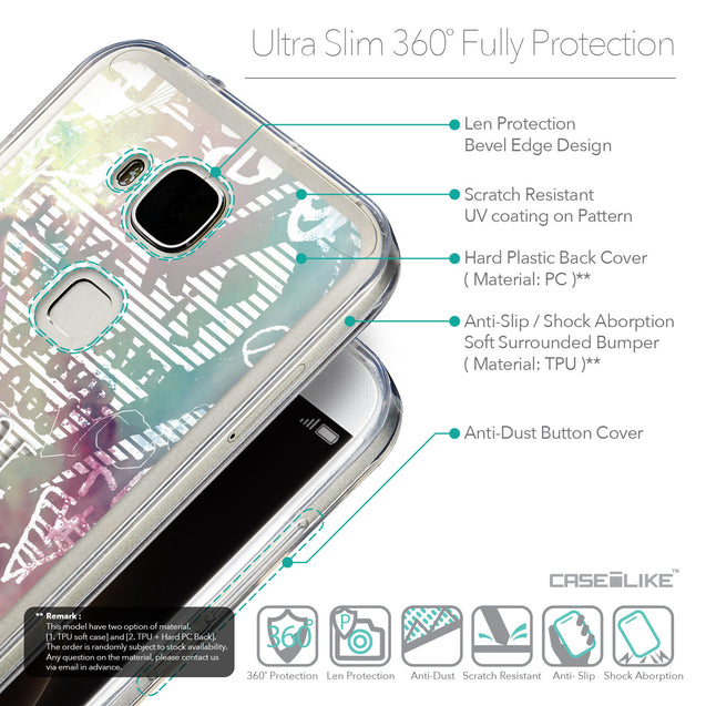 Details in English - CASEiLIKE Huawei G7 Plus back cover Graffiti 2726