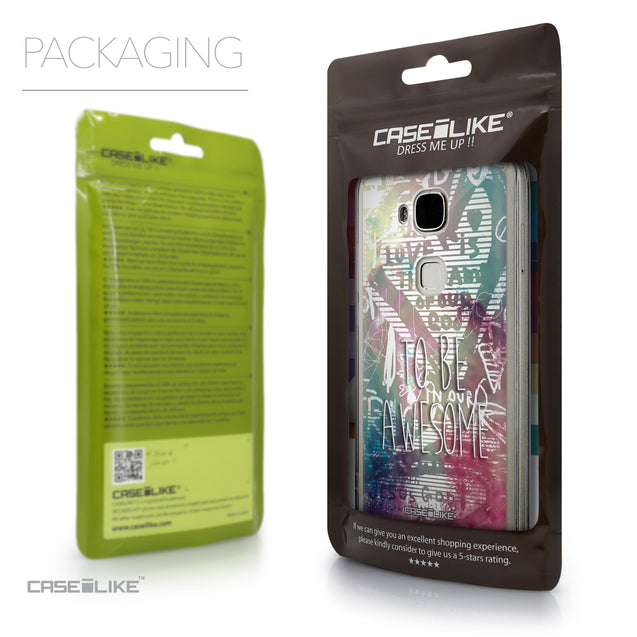 Packaging - CASEiLIKE Huawei G7 Plus back cover Graffiti 2726