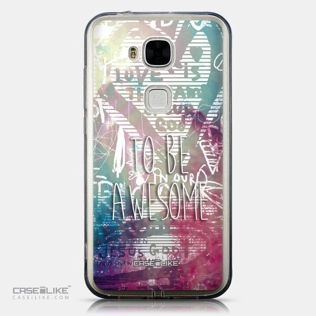 CASEiLIKE Huawei G7 Plus back cover Graffiti 2726