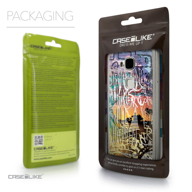 Packaging - CASEiLIKE Huawei G7 Plus back cover Graffiti 2729