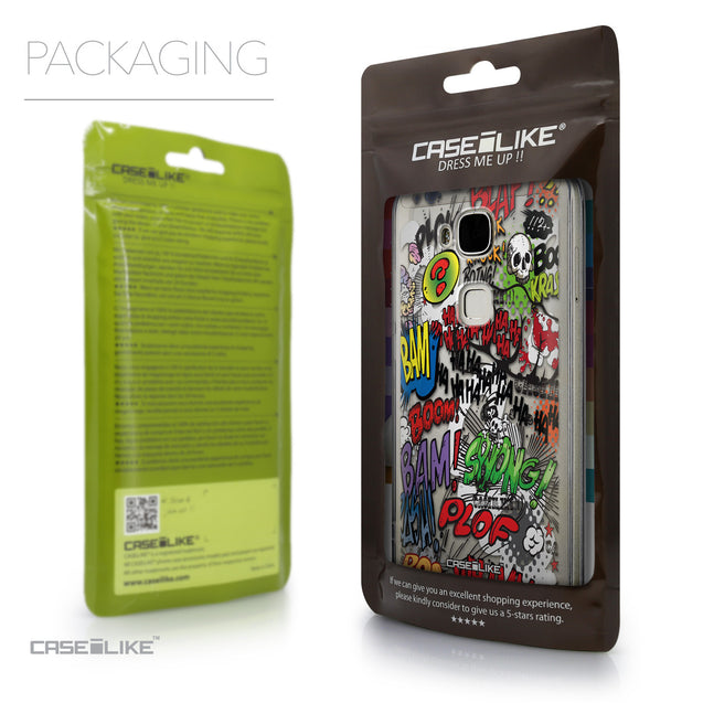 Packaging - CASEiLIKE Huawei G7 Plus back cover Comic Captions 2914