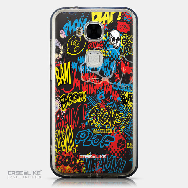 CASEiLIKE Huawei G7 Plus back cover Comic Captions Black 2915