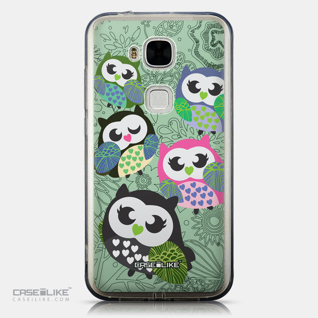 CASEiLIKE Huawei G7 Plus back cover Owl Graphic Design 3313