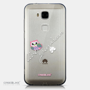 CASEiLIKE Huawei G7 Plus back cover Owl Graphic Design 3314