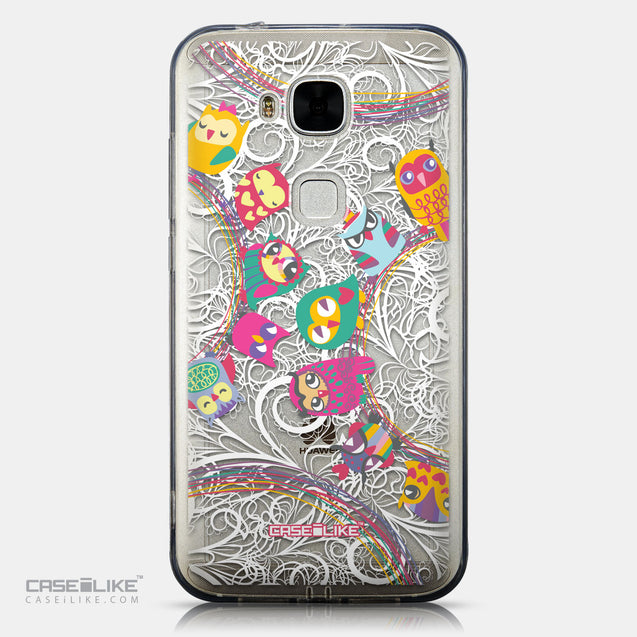 CASEiLIKE Huawei G7 Plus back cover Owl Graphic Design 3316