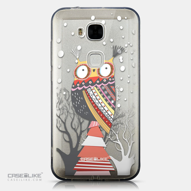 CASEiLIKE Huawei G7 Plus back cover Owl Graphic Design 3317