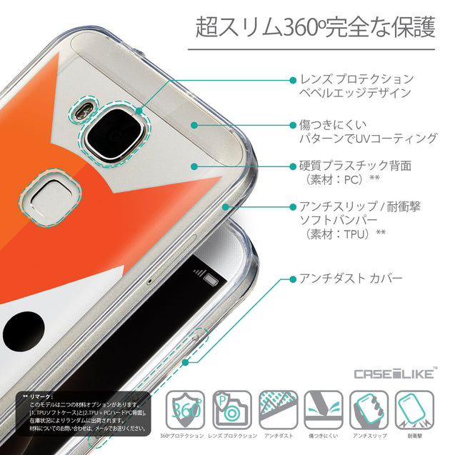 Details in Japanese - CASEiLIKE Huawei G7 Plus back cover Animal Cartoon 3637
