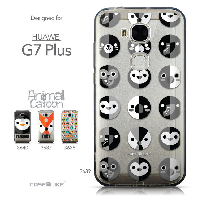 Collection - CASEiLIKE Huawei G7 Plus back cover Animal Cartoon 3639