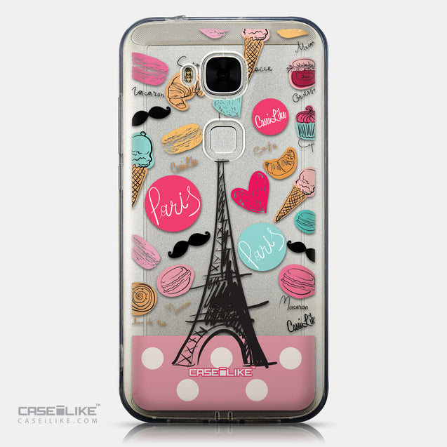 CASEiLIKE Huawei G7 Plus back cover Paris Holiday 3904