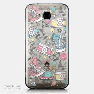 CASEiLIKE Huawei G7 Plus back cover Paris Holiday 3906