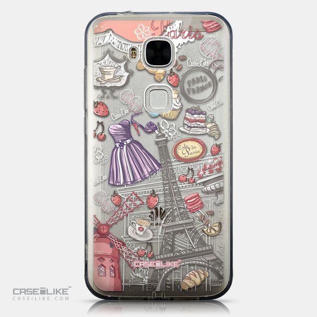 CASEiLIKE Huawei G7 Plus back cover Paris Holiday 3907