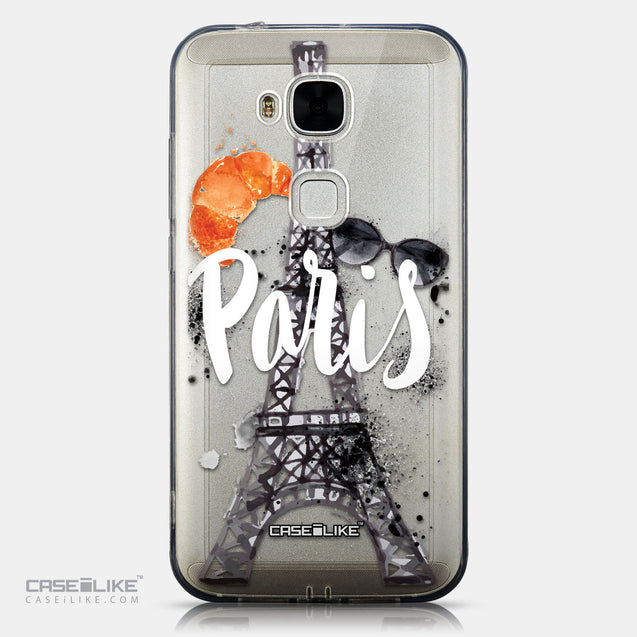 CASEiLIKE Huawei G7 Plus back cover Paris Holiday 3908