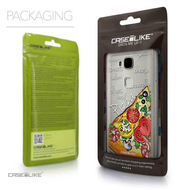 Packaging - CASEiLIKE Huawei G7 Plus back cover Pizza 4822