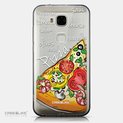CASEiLIKE Huawei G7 Plus back cover Pizza 4822