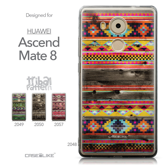 Collection - CASEiLIKE Huawei Mate 8 back cover Indian Tribal Theme Pattern 2048