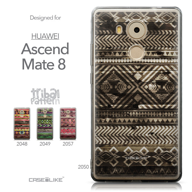 Collection - CASEiLIKE Huawei Mate 8 back cover Indian Tribal Theme Pattern 2050