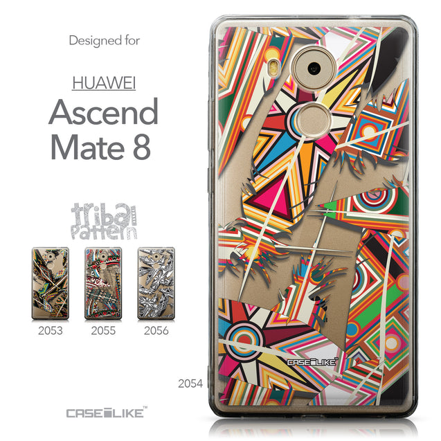 Collection - CASEiLIKE Huawei Mate 8 back cover Indian Tribal Theme Pattern 2054