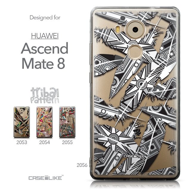 Collection - CASEiLIKE Huawei Mate 8 back cover Indian Tribal Theme Pattern 2056