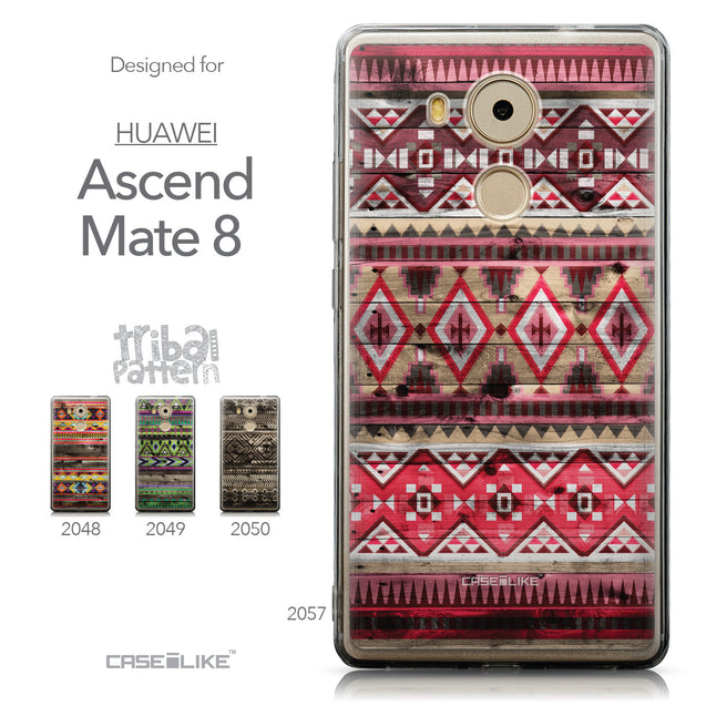 Collection - CASEiLIKE Huawei Mate 8 back cover Indian Tribal Theme Pattern 2057