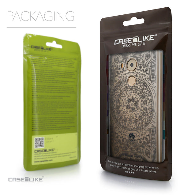 Packaging - CASEiLIKE Huawei Mate 8 back cover Indian Line Art 2063