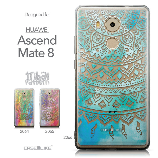 Collection - CASEiLIKE Huawei Mate 8 back cover Indian Line Art 2066