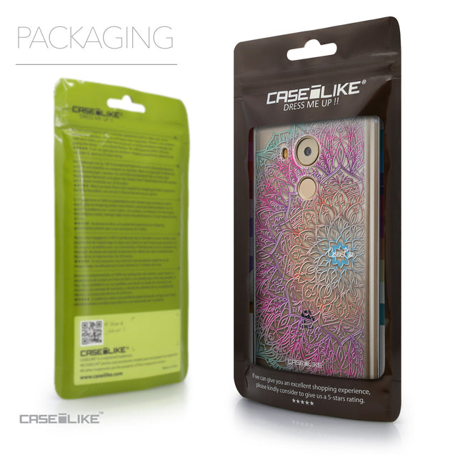 Packaging - CASEiLIKE Huawei Mate 8 back cover Mandala Art 2090