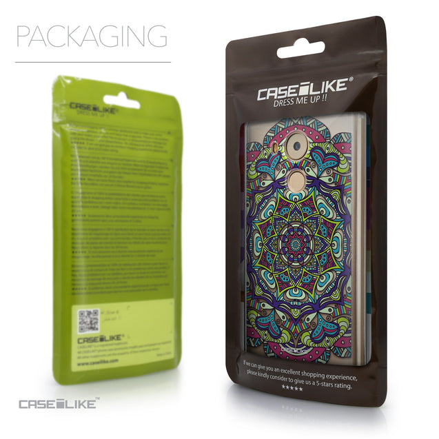 Packaging - CASEiLIKE Huawei Mate 8 back cover Mandala Art 2094