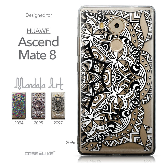 Collection - CASEiLIKE Huawei Mate 8 back cover Mandala Art 2096