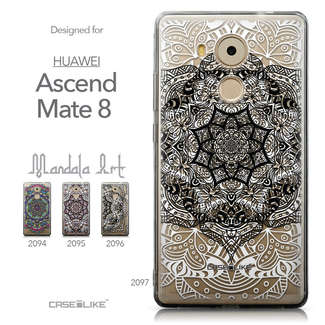 Collection - CASEiLIKE Huawei Mate 8 back cover Mandala Art 2097