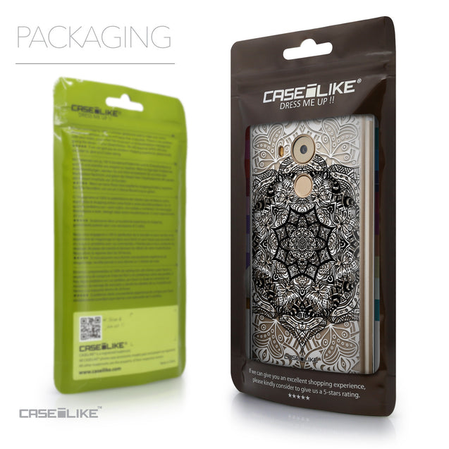 Packaging - CASEiLIKE Huawei Mate 8 back cover Mandala Art 2097