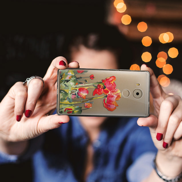 Share - CASEiLIKE Huawei Mate 8 back cover Watercolor Floral 2230
