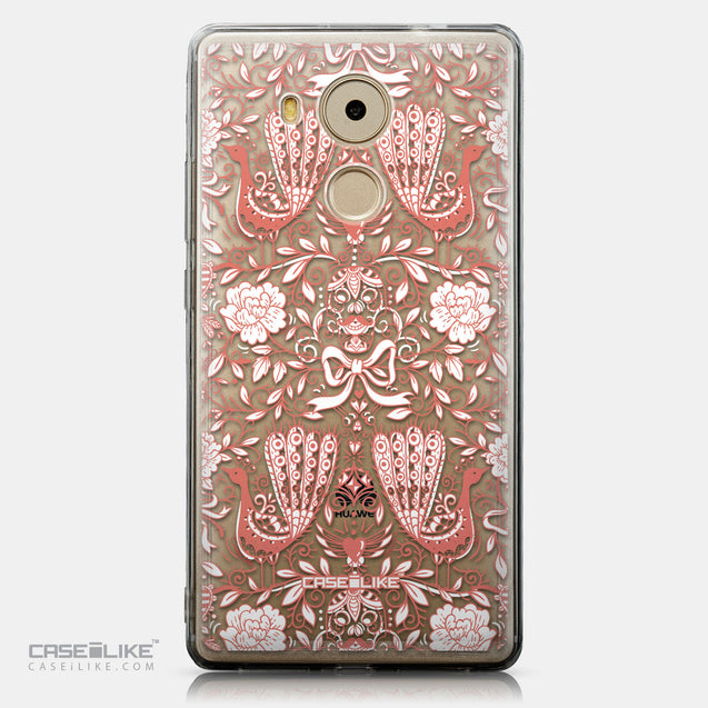CASEiLIKE Huawei Mate 8 back cover Roses Ornamental Skulls Peacocks 2237