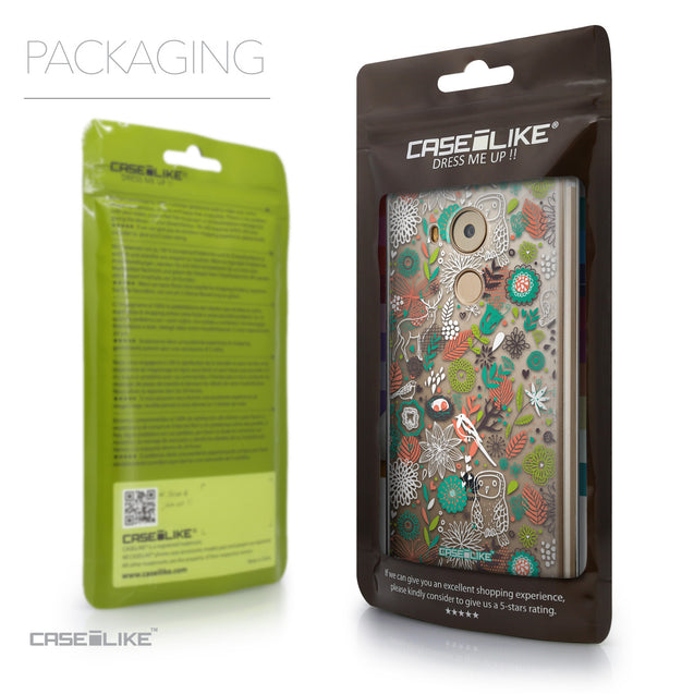 Packaging - CASEiLIKE Huawei Mate 8 back cover Spring Forest White 2241