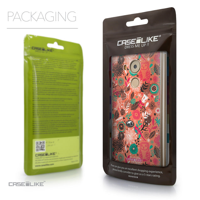 Packaging - CASEiLIKE Huawei Mate 8 back cover Spring Forest Pink 2242