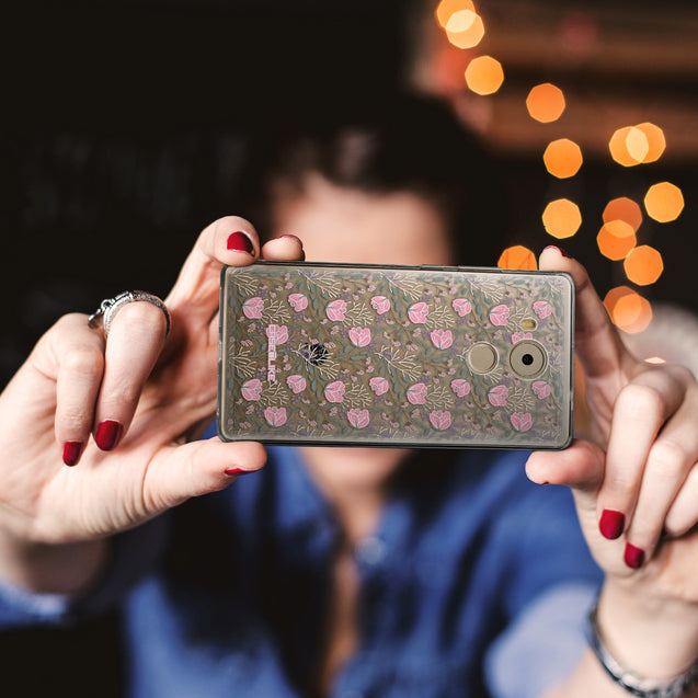 Share - CASEiLIKE Huawei Mate 8 back cover Flowers Herbs 2246