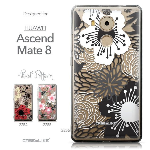 Collection - CASEiLIKE Huawei Mate 8 back cover Japanese Floral 2256