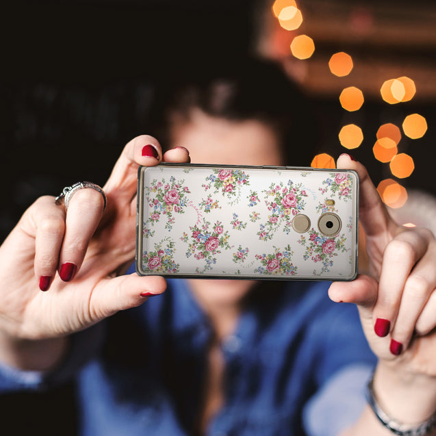 Share - CASEiLIKE Huawei Mate 8 back cover Floral Rose Classic 2260