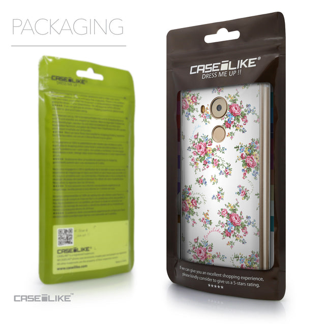 Packaging - CASEiLIKE Huawei Mate 8 back cover Floral Rose Classic 2260